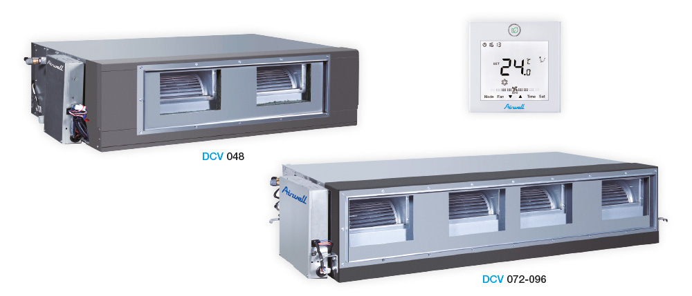 DCV - Ducted high static pressure